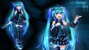 Hatsune Miku by GS-Mantis