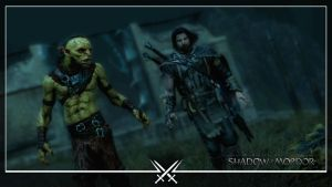 Shadow of Mordor Wallpaper 05: Uneasy partnership by Devastator1775