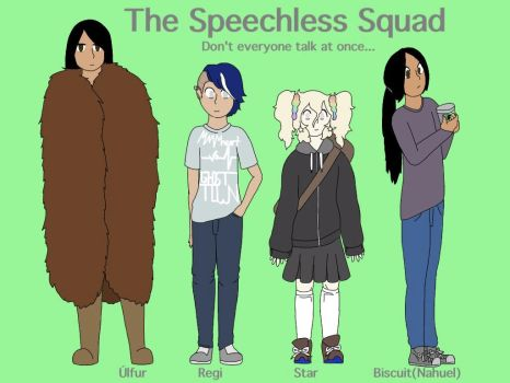 The Speechless Squad by Wisteria-Wolf