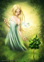 The Elven Goddess by nime080