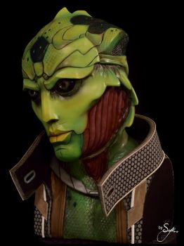 Thane Krios - Lifesize Sculpture Bust - 2 by Syn-Prods
