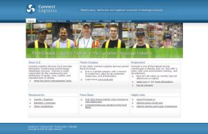 Connect Logistics website by naveedafsar1983