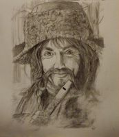 Bofur. The Hobbit. by o0o-flying-free-o0o