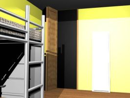 my 3d room..2 by Veester