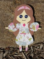 Paper Doll by PixieParrot