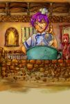 Cooking,Making,Chef Violet by Shilphe