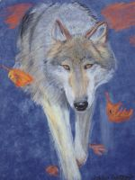 Wolf-Chalk Pastel by randomranma