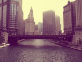 Chicago River by cdooginz