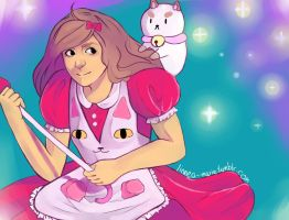 Bee And Puppycat by Linnea-Marie