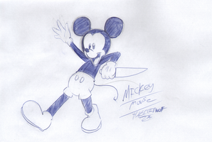 Mickey Mouse by TheIcedWolf
