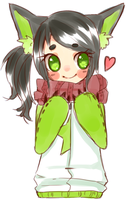Green is the New Cute by CrystalSugarStars
