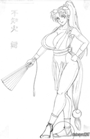 Maximized Mai - Pencil by shadowpencil