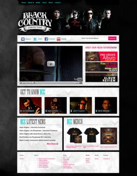 Black Country Communion - Home by mvgraphics