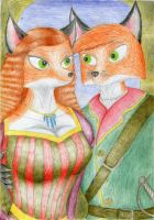 Noble Foxes by Sinaherib