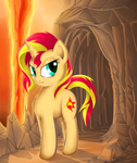 Volcanic Sunset Shimmer by Sea-Maas