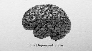 The Depressed Brain by snoopmattymatt