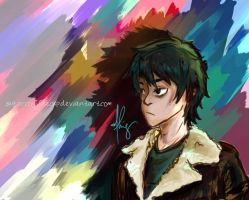 Nico Di Angelo by sugarcoffeecup