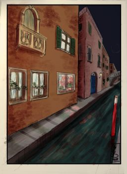 Venice by night by LadyDesiree