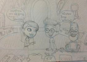 Mr. Peabody and Sherman-WABAC by MyDrawingStyle1