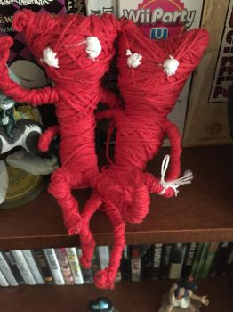 Yarny and Yarny by ansem-the-dead