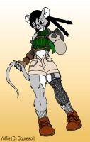 Yuffie Mouse by Skyhammer
