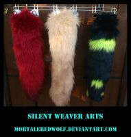Skeet the Ferret tails by MortaleRedWolf