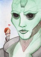 Thane the Mesmerizing Glance by liska-rediska