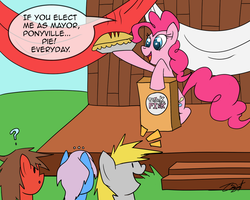 Super Simple Comics - Think Pink by CresentBladedBrony