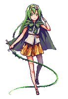 Pixel Commission 6 - Spring Wind by Nyanfood