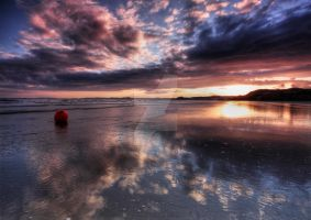 Light Over Blackrock Sands by DL-Photography