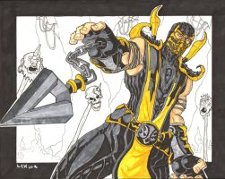 Scorpion sketch by Marvin000