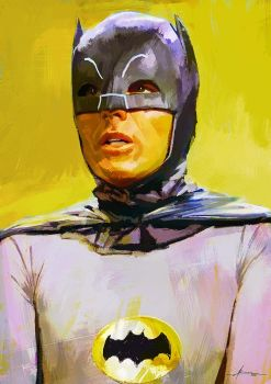 Adam West by JBarrero