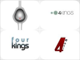 four kings logos by disfractional