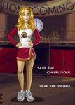 heroes claire bennet by blastedgoose