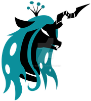 Queen Chrysalis Emblem by Ilona-the-Sinister