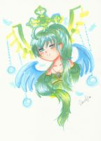 Angel sister: Turquoise by 6wendybird91
