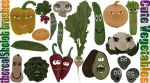 Cute Vegetables by therealShelob