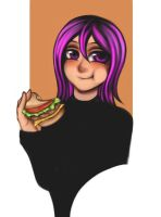 Hamburger by Coke-brother
