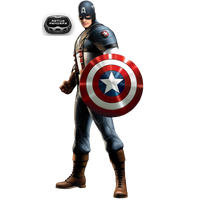 Captain-america Render by Victor76