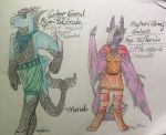 Cyler And Smog Reference Sheets by Maystrine