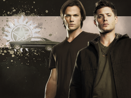 Sam and Dean - Supernatural WP by Vampiric-Time-Lord