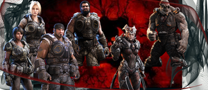 Gears Of War 3 VERSUS 2 by AhsokaTano23