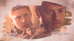 Where You Stand (Destiel wallpaper) by mistofstars