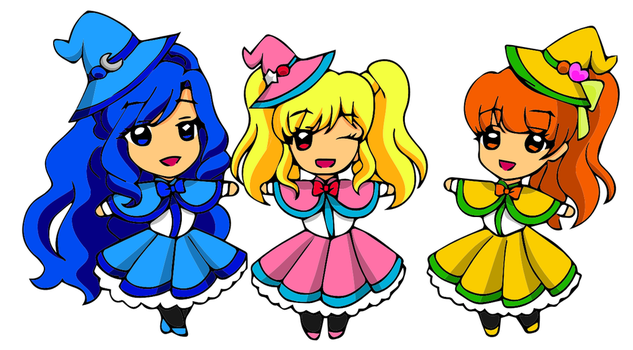 Magical Girls - DokiDoki! Precure Version by vivian274
