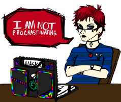 Procrastinating by Conspiracy-Z-Cycle