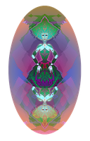 INCREDIBLY COLORFUL QUEEN OF DIAMONDS by adkind