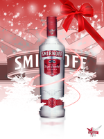Smirnoff Vodka Happy Christmas by AYDeezy
