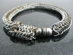 Maille Serpent Bracelet3 by BorealisMetalWorks