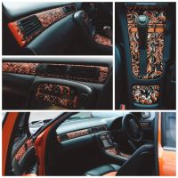 Fox Car interior by PaperandDust