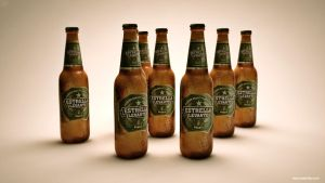 3D Beer Bottle by dspcreativity